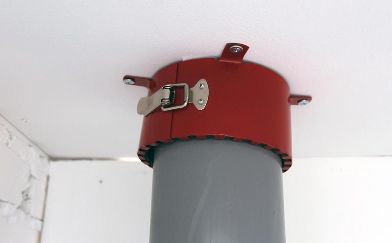 противопожарная муфта на трубе фото